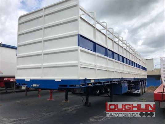 1999 Haulmark Stock Crate Trailer Loughlin Bros Transport Equipment  - Trailers for Sale
