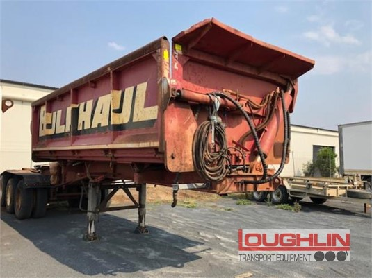 1991 White Transport Equipment Tipper Trailer Loughlin Bros Transport Equipment  - Trailers for Sale