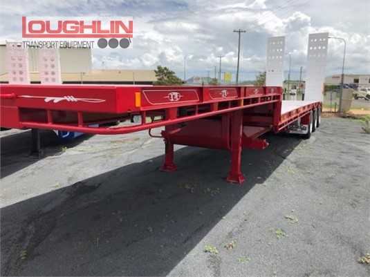 2019 Loughlin Drop Deck Trailer Loughlin Bros Transport Equipment  - Trailers for Sale