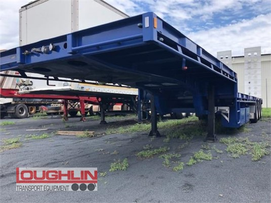 2019 Krueger Drop Deck Trailer Loughlin Bros Transport Equipment  - Trailers for Sale