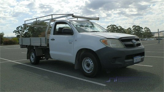 2007 Toyota Hilux Workmate Truck Traders WA - Light Commercial for Sale