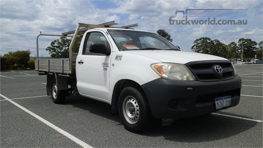 2008 Toyota Hilux Workmate Truck Traders WA  - Light Commercial for Sale