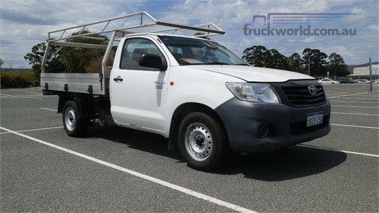 2012 Toyota HILUX WORKMATE Truck Traders WA  - Trucks for Sale