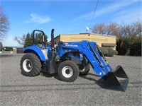 2017 New Holland T4.120 Wheel Tractor
