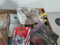 Job Lot assorted tools, nuts and bolts,