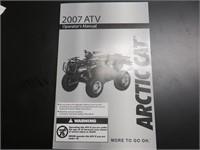 (DMV) 2007 Arctic Cat 700 4x4 EFI Quad