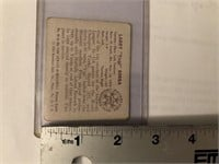 1950 BOWMAN YOGI BERRA CARD