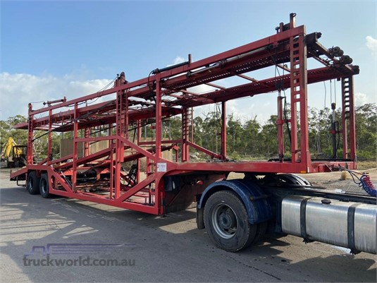 2002 Summons Skeletal Trailer - Trailers for Sale