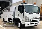 2009 Isuzu FRR Service Vehicle