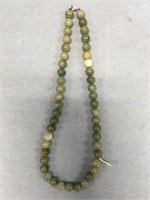 "18"" Strand of stone beads             (M 452)"