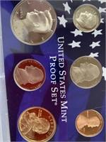 Lot of 2-United States Mint proof sets, 2002, 2004