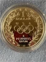1988 S US Olympic silver dollar            (33)