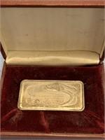 1000 grain bar of .999 sterling silver