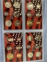 Lot of 2 2004 US Mint proof sets            (33)