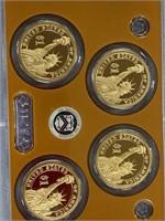 Lot of 2 2011 complete US Mint proof sets & 1969 D