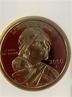 2000 S Sacagawea dollar graded PF69 ultra cameo by