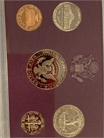 Lot of 3, assorted mint sets, 1990 proof, 2011 sil