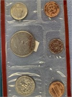 Lot of 6 uncirculated coin sets, 1991 X 2, 1978,19