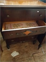 """Vintage dresser w/4 drawers, length approx. 32"""" lo"""