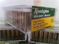 500 rds Remington 22 LR ammo golden bullet