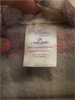 New 2XL women's bathrobe / robe