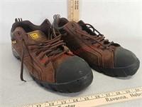 Caterpillar men's size 12 steel toe shoes