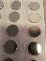 New 60 pack Button cell batteries