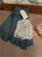 New ladies scarf, gloves, ear warmer headbands