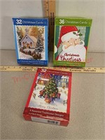 3 new boxes Christmas cards