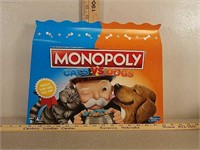 New cars vs dogs monopoly game