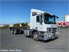 Mercedes Benz Actros 2644 6x4|Cab Chassis