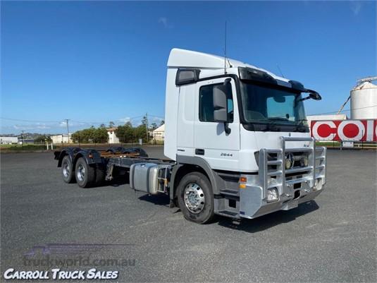 2012 Mercedes Benz Actros 2644 Carroll Truck Sales Queensland - Trucks for Sale