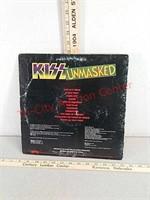 Vintage Kiss unmasked 33 1/3 vinyl record album