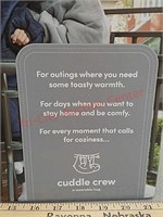 New cuddle crew reversible blanket hoodie