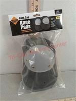 New hard cap knee pads
