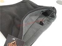 2 new fleece neck gaiters scarves