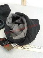 New winter wear - fleece neck gaiter scarf and