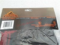 2 new fleece neck gaiters and multi-function