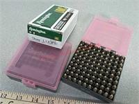 50 rds Remington 9 mm, 100 rds Remington 22LR & 2