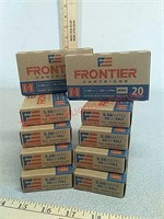 200 rds Hornady Frontier 5.56 ammo ammunition