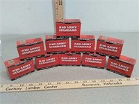 200 rds Red Army .223 steel case ammo ammunition