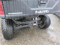 (DMV) 2014 Polaris Brutus Side x Side UTV