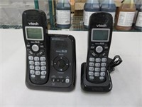 Pair of Vtech DECT6.0 Cordless Phones