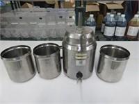 Srver FSP Pump Topping Dispenser w/(3) Inserts