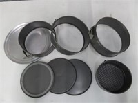 Lot of Assorted Cake Tins