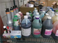 Lot of Assorted Open & Expired Syrups & Odds