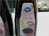 (2) Great Value 500ml Art. Vanilla Extract