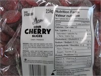 (3) Allan 2.5kg Sour Cherry Slices