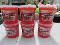(6) Bossen Bursting Boba 7lb Syrup w/Strawberry