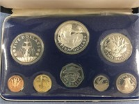 Franklin Mint Barbados silver proof coin set in pr